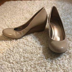 """BCBGeneration """"Tallie"""" Wedge Heels in Size 6.5"""